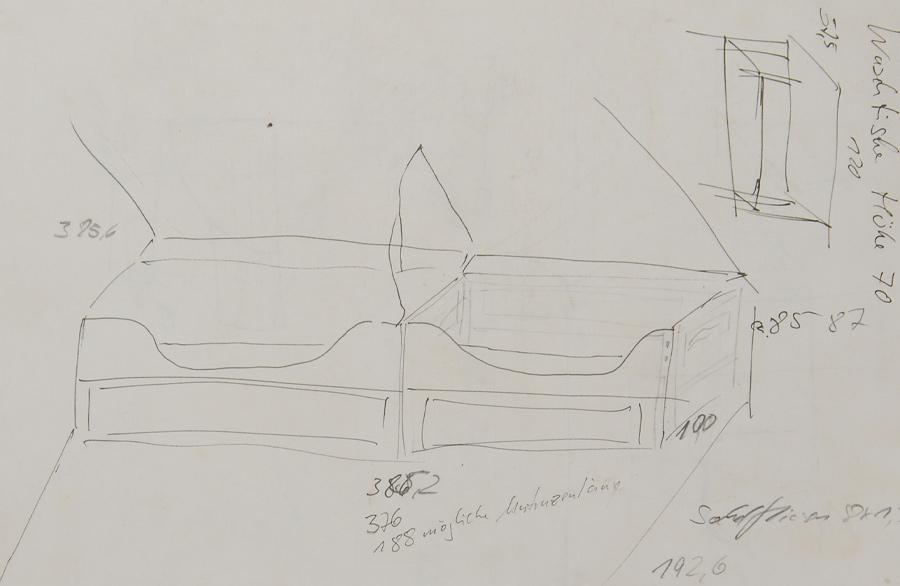 Skizze aus der Planungsphase